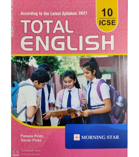 Total English  Morning Star ICSE Class-10 by Pamela Pinto 2020-21