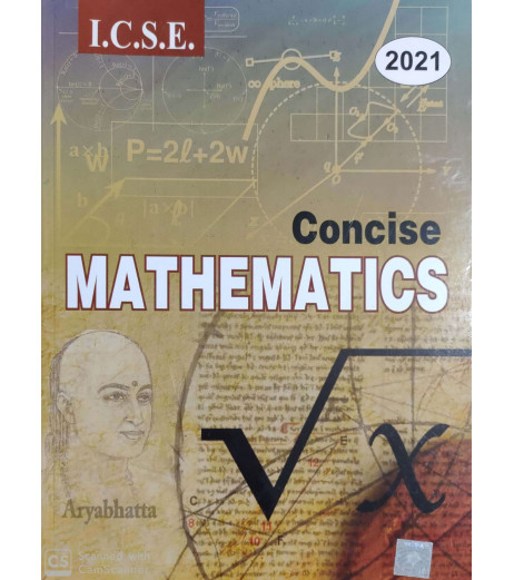 Selina ICSE Concise Mathematics for Class 10 2020-21 edition
