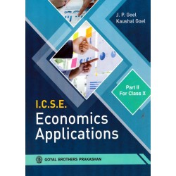 ICSE Economics Application  Part II 2020-21 Class-10 By