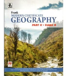 Frank Modern Certificate Geography Part 2 Class 10 2021 edition