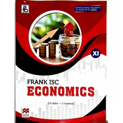 Frank ISC Economics Class 11 By D K Sethi  for the Year 2022