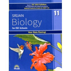Srijan Biology For ISC Class 11 by Veer Bala Rastogi (Base