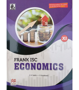 Frank ISC Economics Class 11 By D K Sethi  for the Year 2023