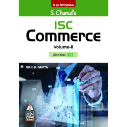 ISC Commerce Vol-II Class 12 by C.B. Gupta as per 2022 syllabus