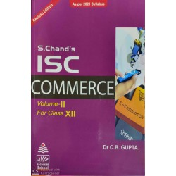 S. Chand's ISC Commerce Vol-2 For Class 12 by C. B. Gupta