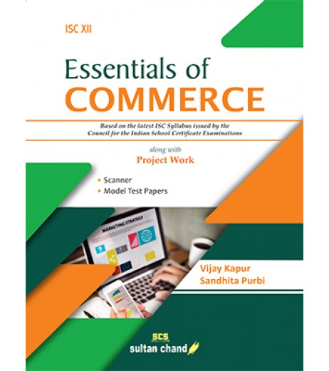 Essentials of Commerce - A Textbook for ISC Class 12 By Vijay kapur 2020-21
