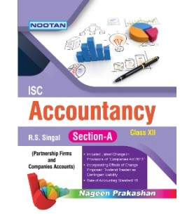Nootan ISC Accountancy Part-A Class 12 2020-21 by R. S. Singal