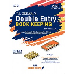 T.S. Grewal's Double Entry Book Keeping ISC Class 12