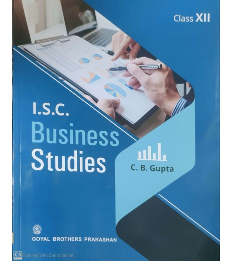 ISC Business Studies Part 2 For Class 12 by C. B. Gupta 2020-21 edition