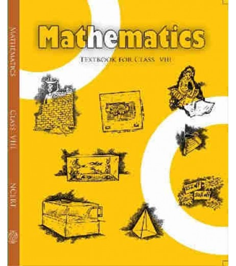 Mathematics English Book for class 8 Published by NCERT of UPMSP