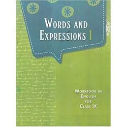 English - Words and Expressions 1 - NCERT book for Class IX