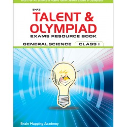 BMA's Talent & Olympiad Exams Resource Book for Class-1 (