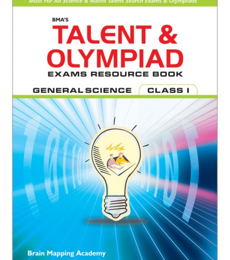 BMA's Talent and Olympiad Exams Resource Book for Class-1 (EVS)