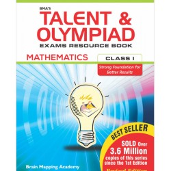 BMA's Talent & Olympiad Exams Resource Book for Class-1 M