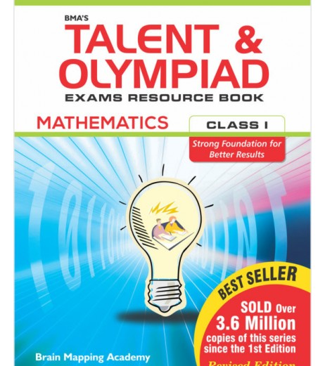 BMA's Talent and Olympiad Exams Resource Book for Class-1 Mathematics