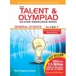 BMA's Talent & Olympiad Exams Resource Book for Class-2 M