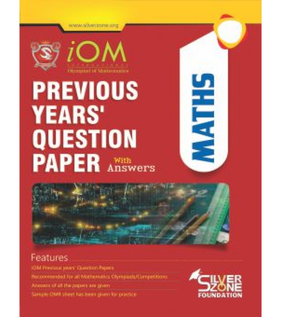Olympiad IOM Previous Year Question Paper Class 8