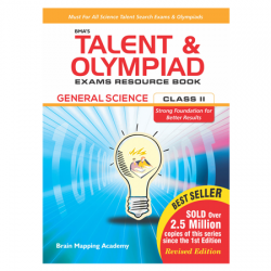 BMA's Talent & Olympiad Exams Resource Book for Class-3 M