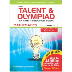 BMA's Talent & Olympiad Exams Resource Book for Class-4 M