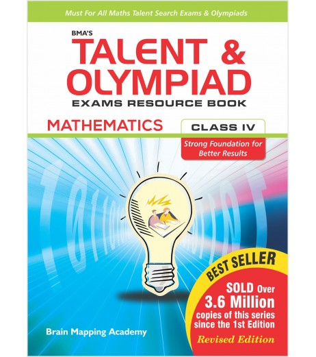 BMA's Talent and Olympiad Exams Resource Book for Class-4 Mathematics