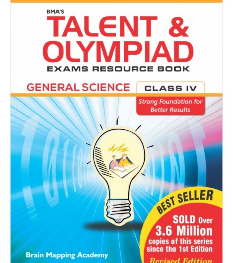 BMA's Talent and Olympiad Exams Resource Book for Class-4(EVS)