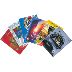 DPS 2020-21 Textbooks Set for Class 6 (Set of 10 Books)