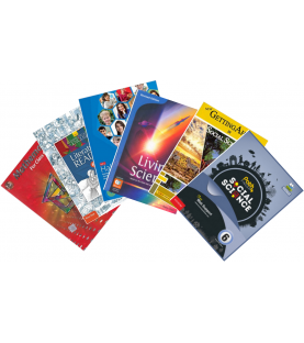 DPS Text books set for Class 6 (Set of 10 Books) 2021-22