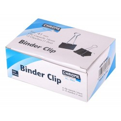 Clips 41 mm 12 pcs Binder clips