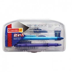 2 in 1 Geometry and Pencil Box Set