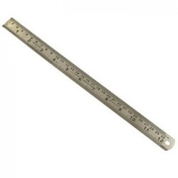 Metal Scale 12 inch
