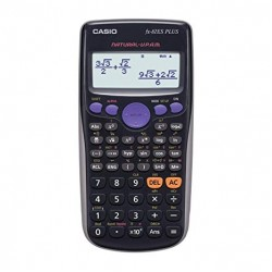 FX-82 ES Plus Display Scientific Calculations Calculator