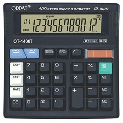 OT-1400 T Check and Correct Calculator