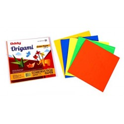 Origami Sheet Single Side Fluorescent 6'x6' 5 Color 20