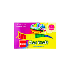 Clay Kraft 4 Colours Strips - 30 g