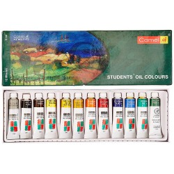 Oil Colour Box 9ml Tubes 1 Pack with 12 Shades