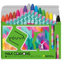 Crayons 1 Pack with  16 Shades Assorted Shades