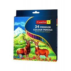 Colour Pencils 1 Pack with 24 Shades