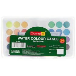 Water Colour Cakes 1 Pack with 24 Shades
