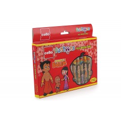Chota Bheem Brush Pen with Flexible Tip 1 Pack with 12 Units