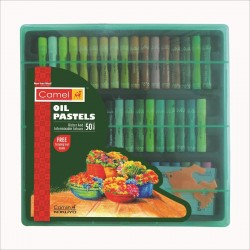 Oil Pastel 1 Pack with 50 assorted shades