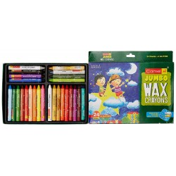 Crayons 1 Pack with 24 Shades + 2 Glitter Shade