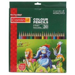 Camlin Colour Pencils 24 Shades