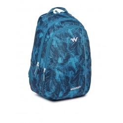 Wildcraft Men Blue Graphic Backpack