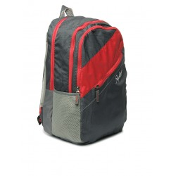 Unisex grey backpack