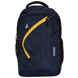 Navy blue light weight 31 ltrs casual laptop backpack