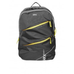 Unisex black backpack