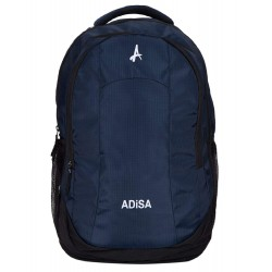 Navy blue light weight 35 ltrs casual laptop backpack