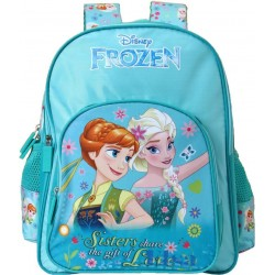 School Backpack 18 inch Cyan Polyester