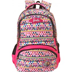 School Backpack 19 inch Pink Polyster