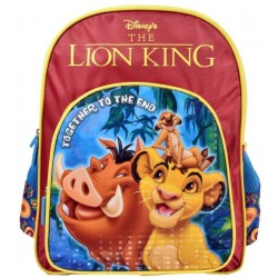 School Backpack 14 inch Multicolor Polyester